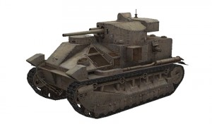 Vickers Medium Mk II