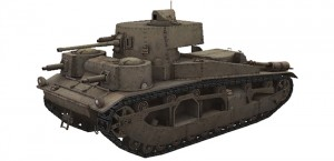 Vickers Medium Mk III