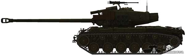 T26E4 Super Pershing skins for WoT