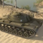 Танк М60 в World of Tanks 07