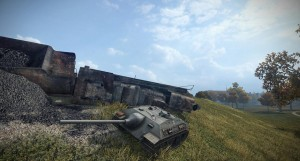 E-25 в World of Tanks -04