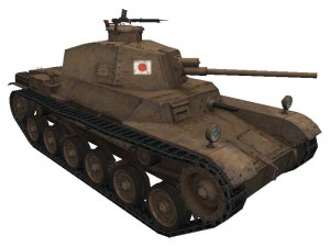 Chi-He Ho-I в World of Tanks