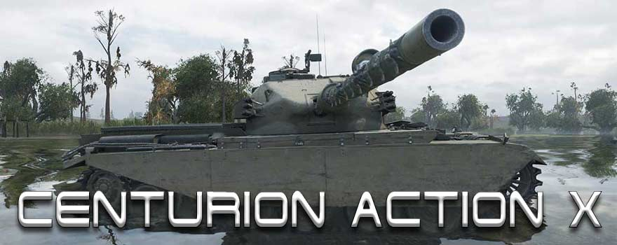 Centurion Action X в World of Tanks