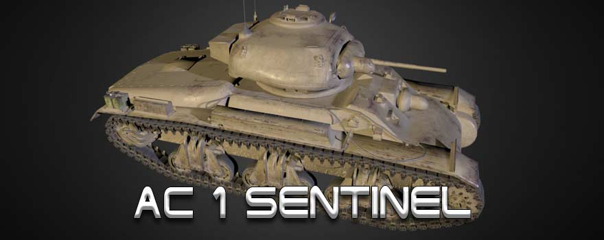 В разработке: AC I Sentinel в World of Tanks