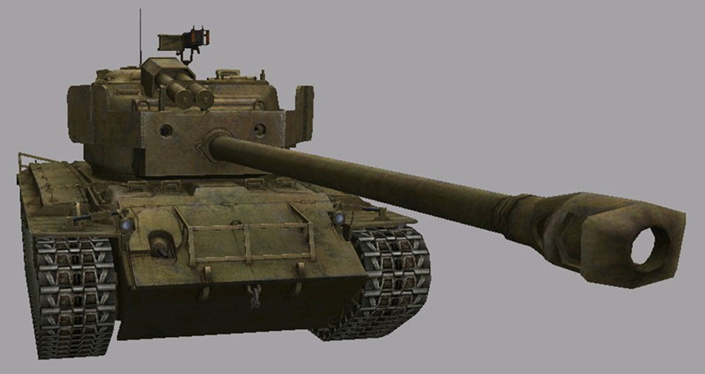 T26E4 Super Pershing в World of Tanks